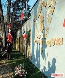Les élèves de Duruy au mémorial du Parc Jean Rameau