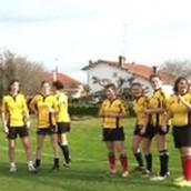 Notre équipe de rugby féminin