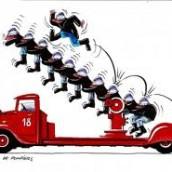 Pompiers et grande échelle