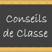 Dates des conseils de classe du 3ème trimestre