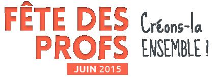 Fête des Profs - Logo orange