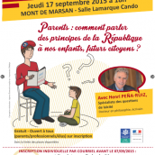 Conférence parentalité et principes de la République