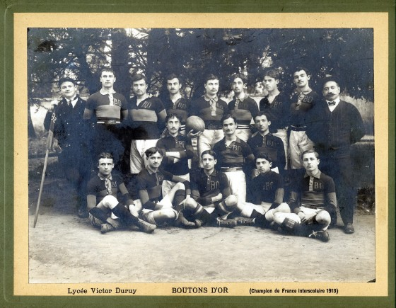 boutons d'or champions 1913