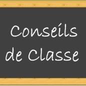 Rectificatif planning conseils de classe