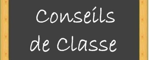 Conseils de classe trimestre 3