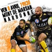 Places de rugby pour Narbonne
