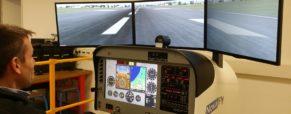 Simulateur de vol en SI