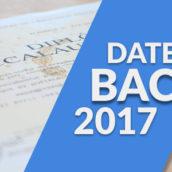 Dates du bac 2017