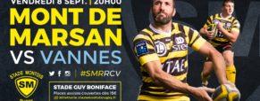 Billets Stade Montois Rugby vs Vannes