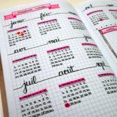 Planning de l'année scolaire