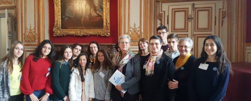 Daphné Diris, lauréate nationale concours Bulles de Mémoire