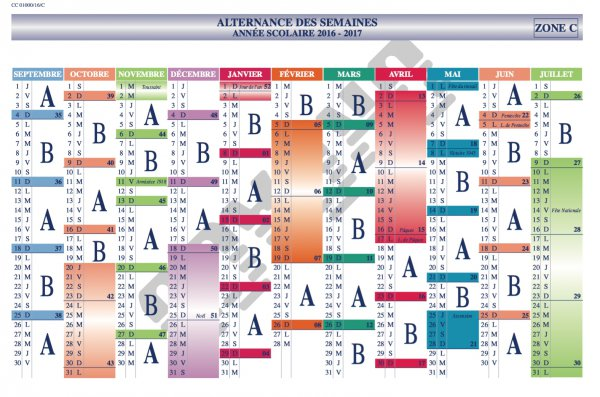 Calendrier Semaine A Et B 2020.Semaines A Et B Lycee Victor Duruy
