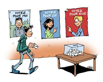 Election des délégués de classes