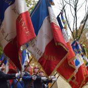 Cérémonie des 100 ans devant notre monument aux morts