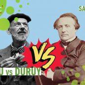 Duruy vs Despiau en musique
