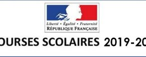 Bourses nationales 2019/2020