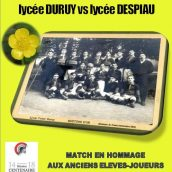 Report match Duruy/Despiau au rugby