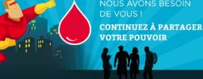 Le don du sang reste indispensable
